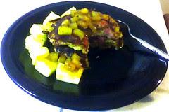 Cornmeal 'Hamcakes' w/ Pineapple Maple Syrup