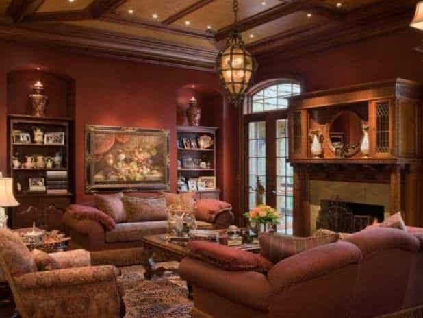 Living room ideas: Victorian living room - HOUSE INTERIOR