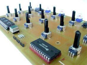 Điều khiển Midi với MC14067 PIC17C77