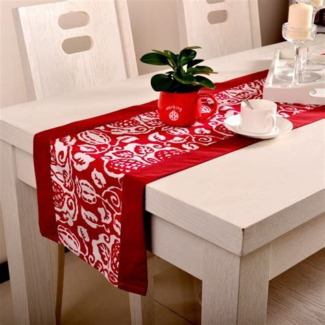 wholesale christmas table runner/long wedding reception