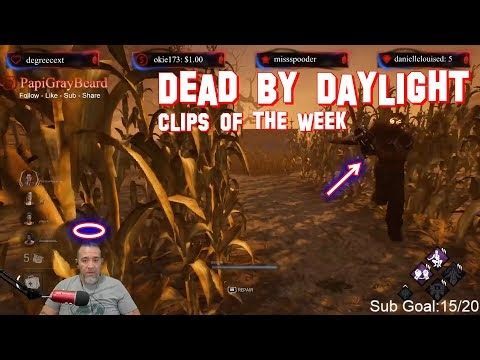 Dead By Daylight Clips of the Week on Twitch Part 1