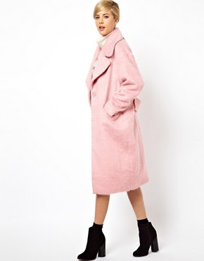 Image 1 of ASOS Vintage Cocoon Coat