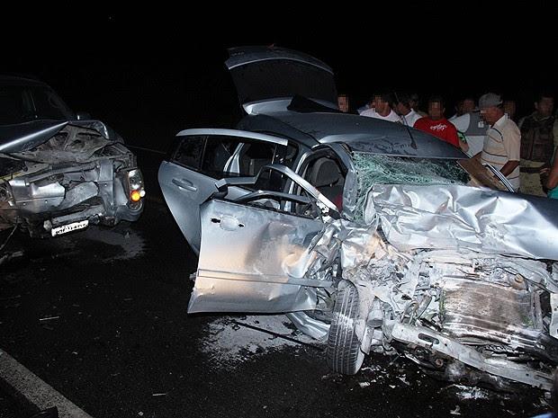 Mister Bahia morre em acidente na BR-324 (Foto: Raimundo Mascarenhas/ Site Calila Noticias)