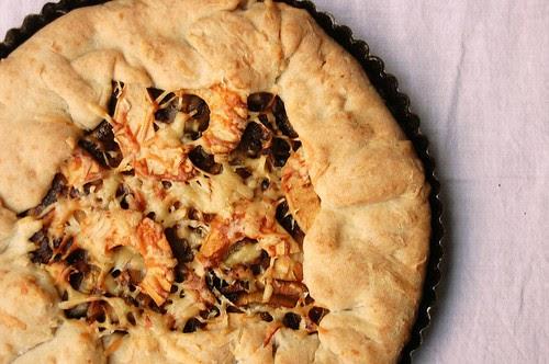 Heart of Light: Savory apple tart