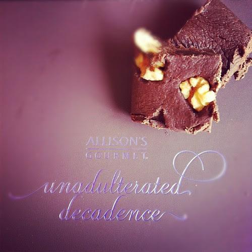 Alison's gourmet fudge