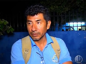 Equatoriano Braulio Rafael Baldeon foi assaltado em Natal (Foto: Reprodução/Inter TV Cabugi)
