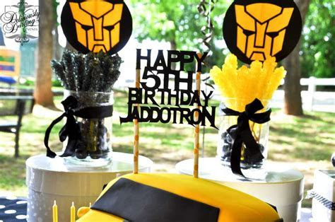 Transformers Birthday Party Ideas   Photo 5 of 11   Catch