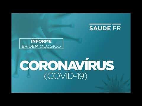 Paraná: Boletim registra mais 5.650 casos de Covid-19 e 107 óbitos.