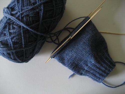 more sock knitting.