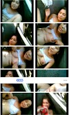 Hot Collage Girl 1st Day In the Car