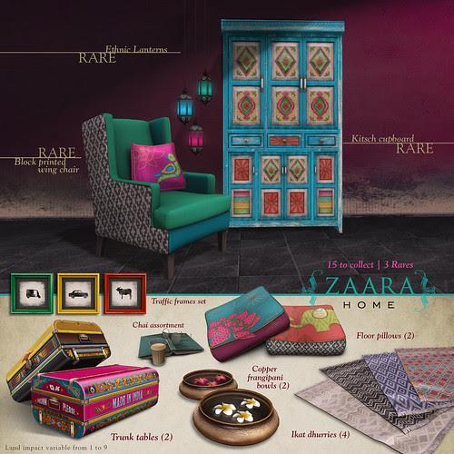 {Zaara} home for Arcade