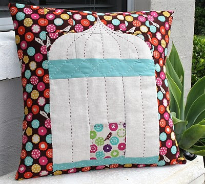 Birdcage Pillow Pattern