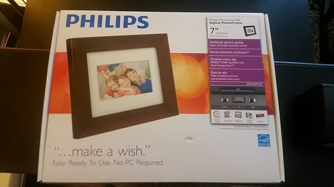 Philips 7 Digital Frame Makes Great Gift Household For Sale On