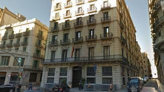 Edifici de la Prefectura Superior de Policia de la Via Laietana de Barcelona (Google Street View)