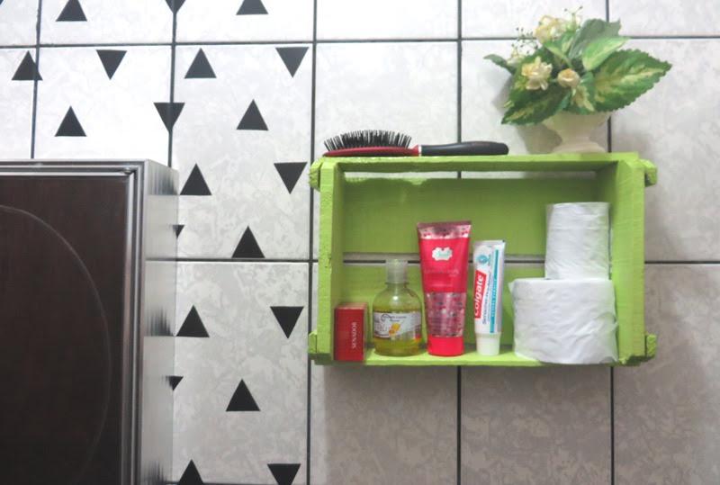 Resultado de imagem para decoração de caixote para banheiro