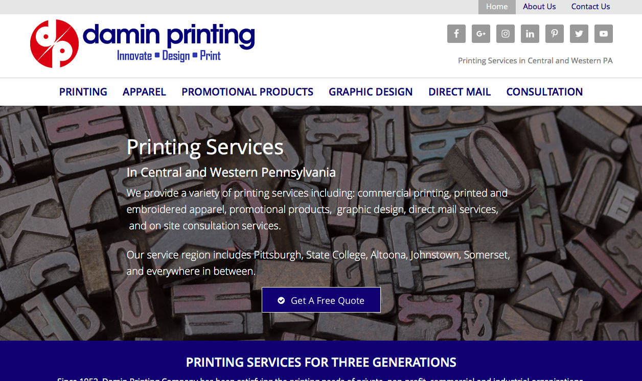 Commercial Printing In Altoona Johnstown And Ebensburg Pa