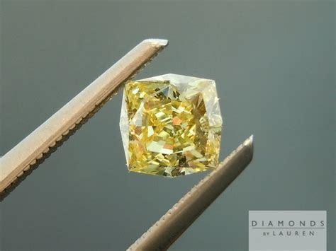 Yellow Diamond   Princess Cut Diamond   Diamond Ring