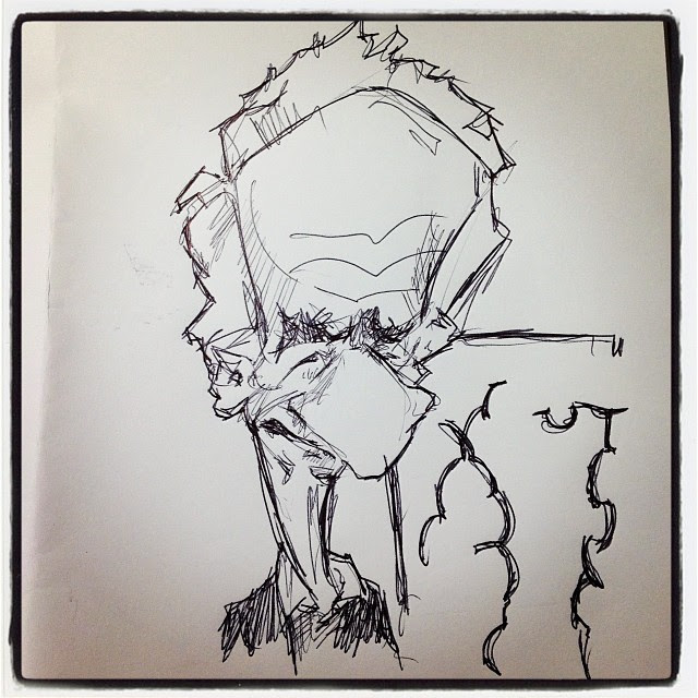 #chillida #bic #caricature