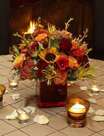 Bright and Colorful   Fall flowers, Flower and Centerpieces