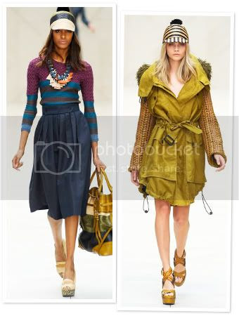 Burberry Spring 2012 London Fashion Week