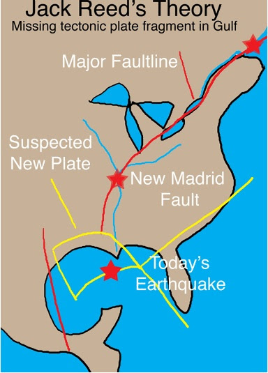 reed New Disaster in the Gulf Quakes, Sinkholes, Whats Next?