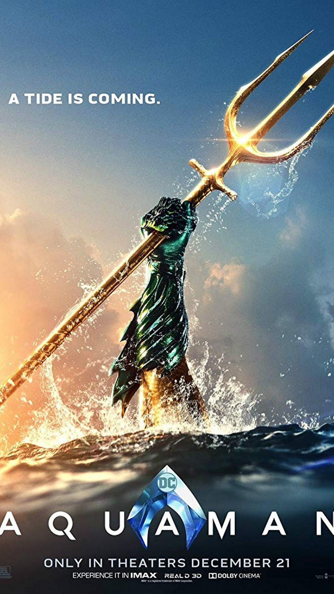 ff68556847e Aquaman Iphone 8 Wallpaper 2018 Movie Poster Wallpaper Hd