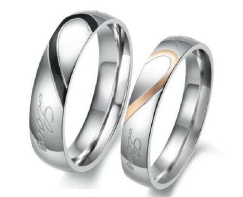 His and Hers Matching Wedding Bands   eBay