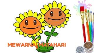 All Clip Of Teknik Mewarnai Bunga Matahari Bhclipcom