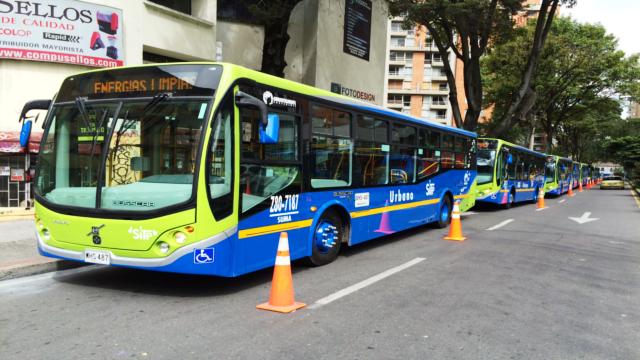 Bogotá cuenta con 20 nuevos buses híbridos zonales del SITP