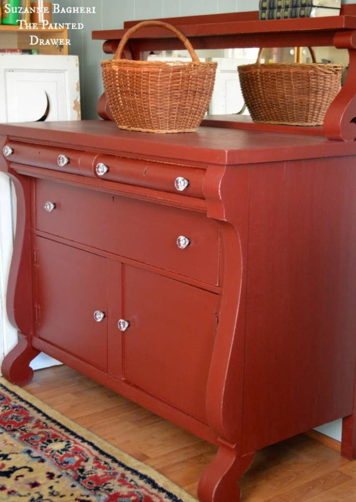 Empire Chest/Dresser w/ cut glass knobs - d. lawless hardware