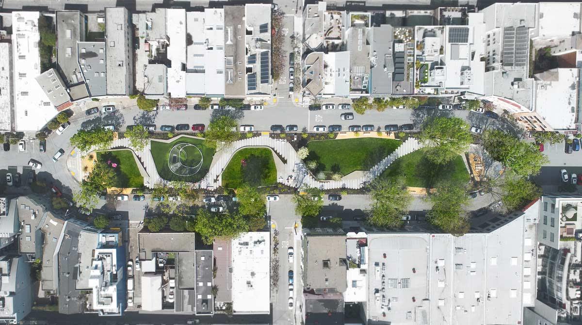 South Park San Francisco By Fletcher Studio Landscape