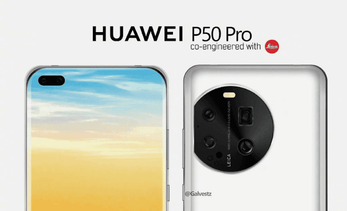 Huawei P50 design and details appear online – may use a liquid camera