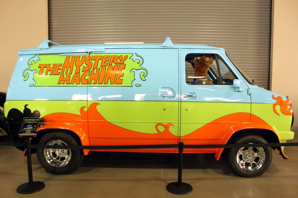 The Mystery Machine With Scooby Doo Warner Brothers