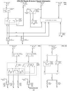 Wiring diagram for mazda b2500 1998 - Fixya