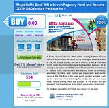 Mega Raffle Deal! WIN a Crown Regency Hotel and Resorts 3D 2N DADVenture Package for 4