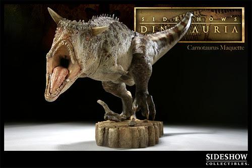 Carnotaurus Maquette