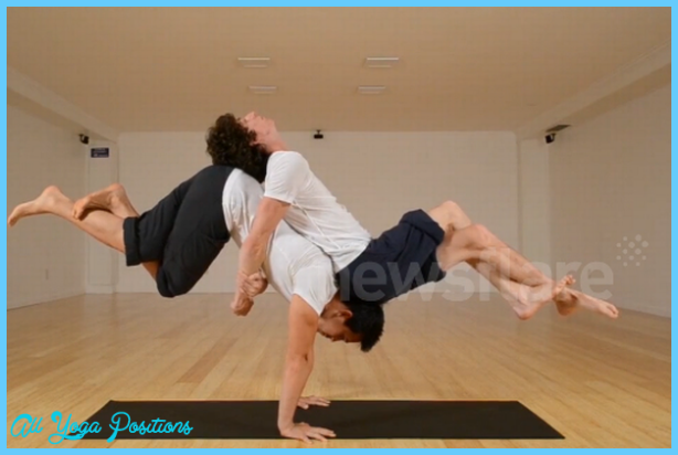 Yoga Poses For 2 People Easy