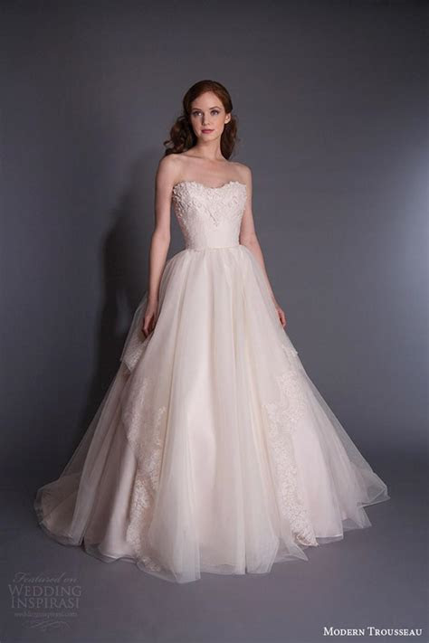 Wedding Dresses Ball Gown Blush Pink Sweetheart Tulle A