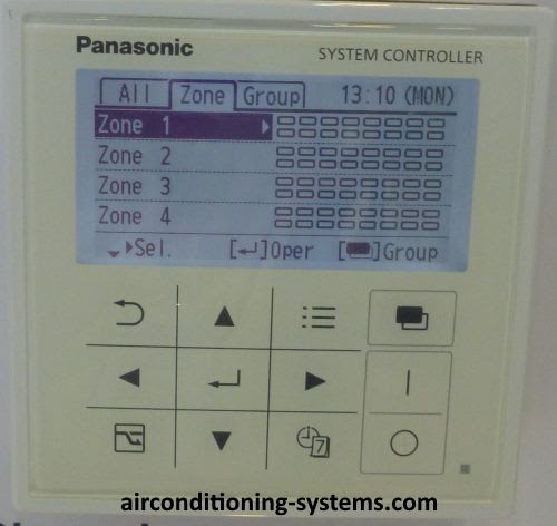 panasonic air conditioner system controller