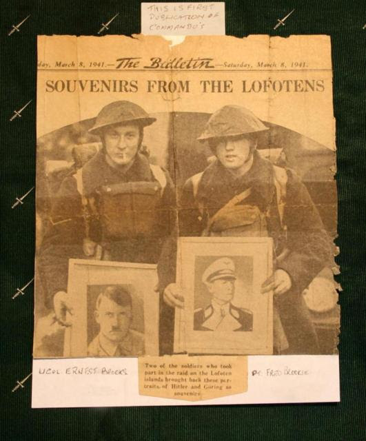 L/Cpl Ernest Brooks and Pte. Alfred Brooking