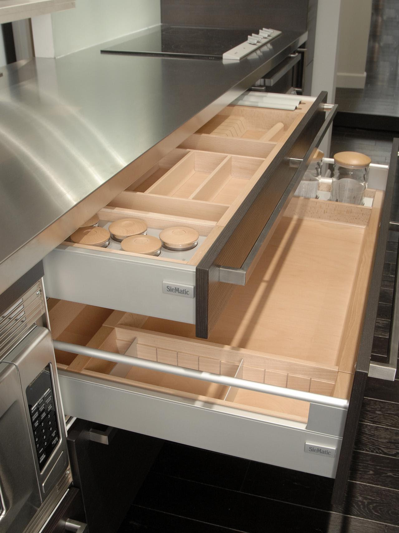 kitchen drawer organizers wood : Kitchen Drawer Organizer ...