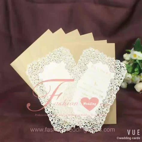 2018 Fancy Hot Foil Laser Cut Wedding Invitation Cards
