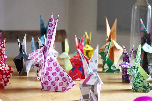 Origami Osterhasen