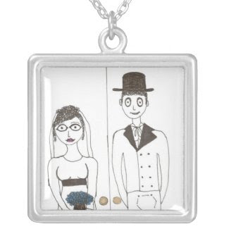 The Creepy Wedding Jane Austen Wedding necklace