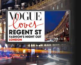 Save the Date: Vogue Loves Regent Sreet