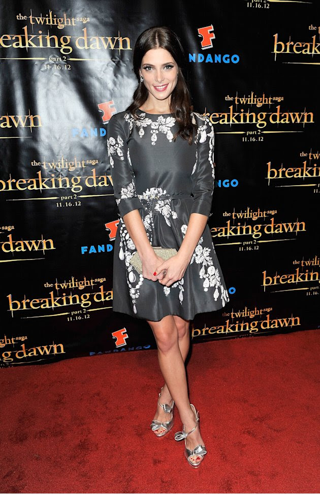 "Ashley Greene at the 2012 Comic-Con "" Breaking Dawn Part 2"" party."