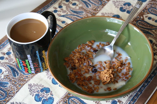 coffee, Love Grown Foods Granola Sweet Cranberry Pecan