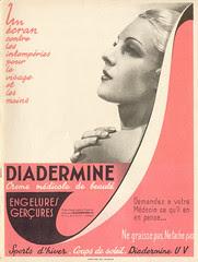 Diadermine Marie-Claire n°42 - 17 décembre 1937