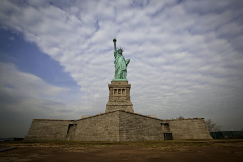 The Statue of Liberty, pictured here in November, will reopen on July 4.