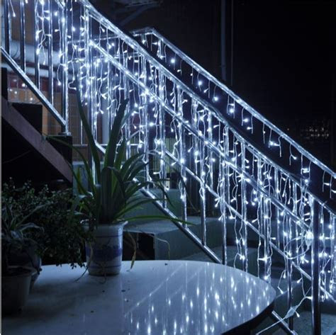 4m *96 Led Christmas lights outdoor garland led icicle